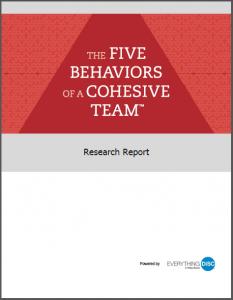 Five Behaviors Research Pic