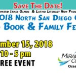 2018 North San Diego County Latino Book & Family Festival Book Signing