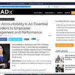 LEADx Article on Supportive Accountability Leadership