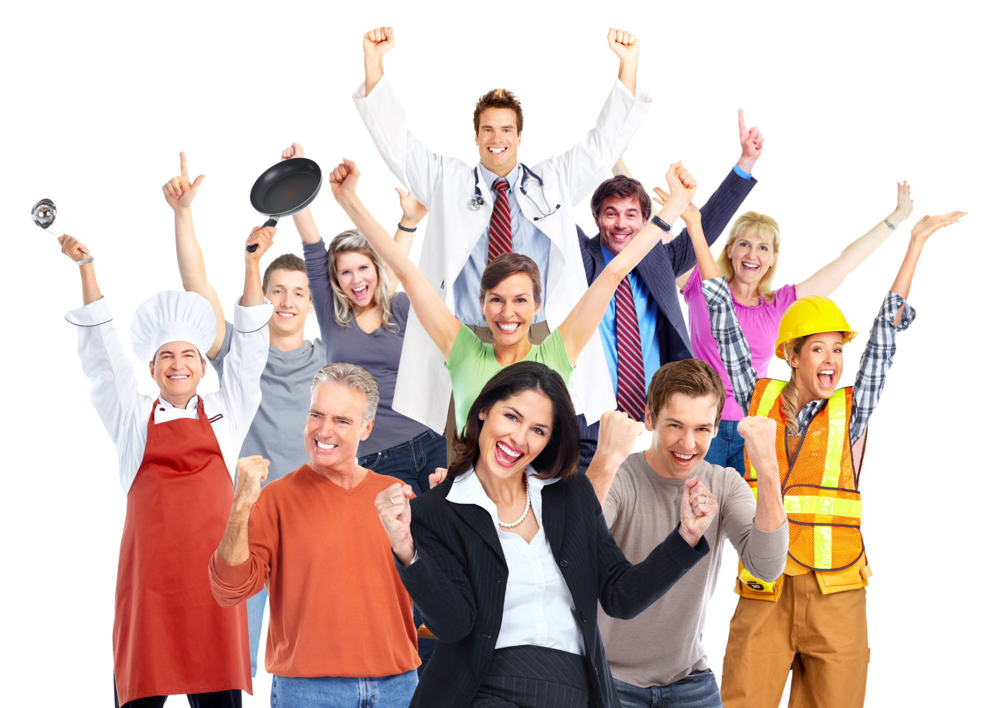 фотографии довольных рабочих совсем скучали
