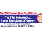 21st International Latino Book Awards Ceremony