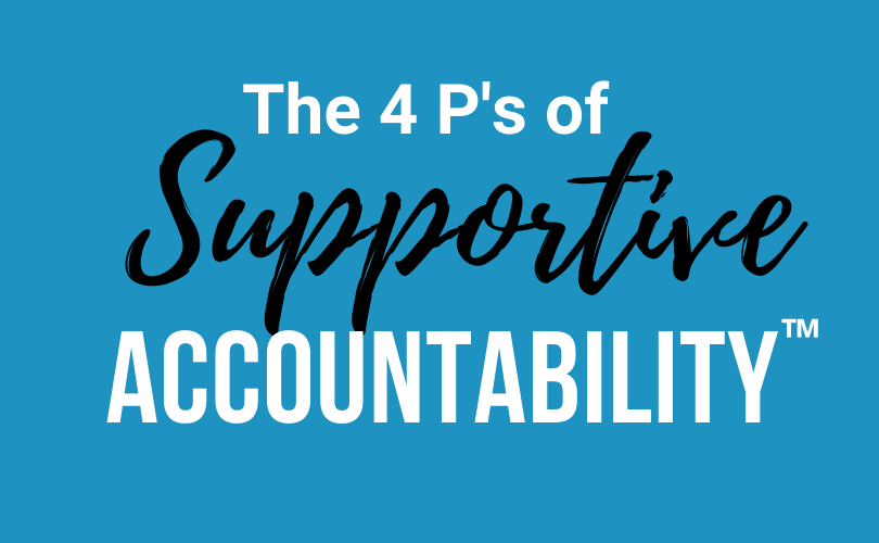 the 4 P's of Accountability
